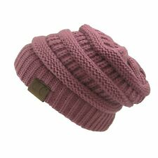 ... Womens Cap Hat Skully Unisex Slouch Color Cable Knit Beanie.  9.49.  Free shipping. Womens Adidas Originals RIB Beanie Hat OSFM Color Choice  Sparkles ... ae9bbc490c01