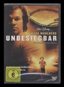 DVD UNBESIEGBAR - DER TRAUM SEINES LEBENS - FOOTBALL - MARK WAHLBERG *** NEU ***