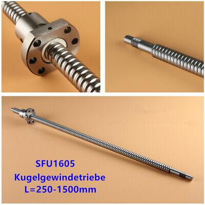 SFU1605 Kugelgewindespindel Kugelumlaufspindel 250mm Mutter CNC