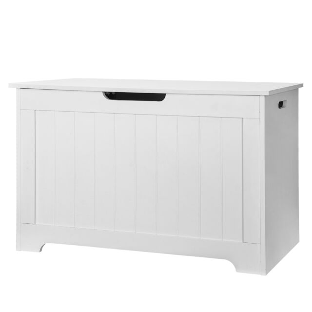 Leather Storage Ottoman Bench Bedroom Storage Trunk Toy Hope Chest Seating For Sale Online   EBay