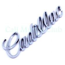 "New ABS CADILLAC CHROME SCRIPT LOGO EMBLEM 6.75/"" Free Shipping"