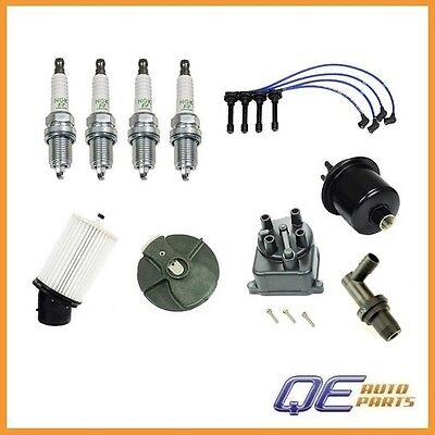Tune Up Kit For Integra B18B1Non-VTec Gas Filter Cap Rotor NGK Wires/&Plugs OEM