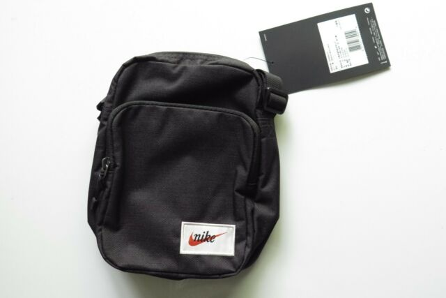 esquema toma una foto Discrepancia  Nike Heritage Cross Body Bag Small Items Black Ba5809-010 Unisex 100  Authentic for sale online | eBay