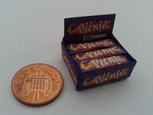 1//12 Scale-Caja De Picnic Barras Dulces Para Dollshouse Miniatures