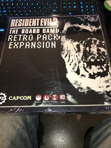 Details about RESIDENT EVIL 2 The Board Game Kickstarter Exclusive Retro  Pack expansion