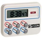 CDN TM8 Digital Timer and Clock Memory Feature