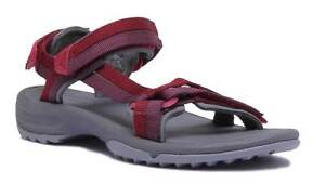 dcae5f513e1b Teva Terra Fi Lite Women Other Fabric Red Grey Strappy Sandals ...