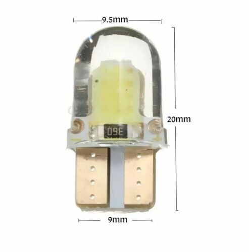 W5W LED Wedge Lamp Bright White Car Bulb Number Plate Side 501 12 Volt