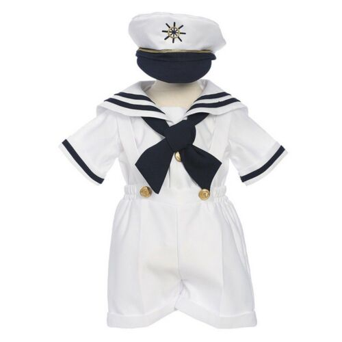 Infant Size Toddler Boy/'s Sailor Outfit Set Small to 4T