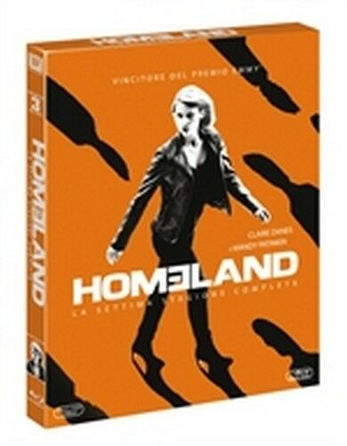 Homeland - Caccia alla spia - Stagione 7 (3 Blu-Ray Disc) ORIGINALE SIGILLATO -