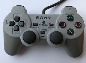 PS1-Original-Controller-Grau-Anlaogsticks-Sony-PlayStation-SCPH-1200