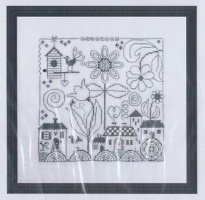 Carre-fun-one-colour-cross-stitch-chart-Jardin-Prive