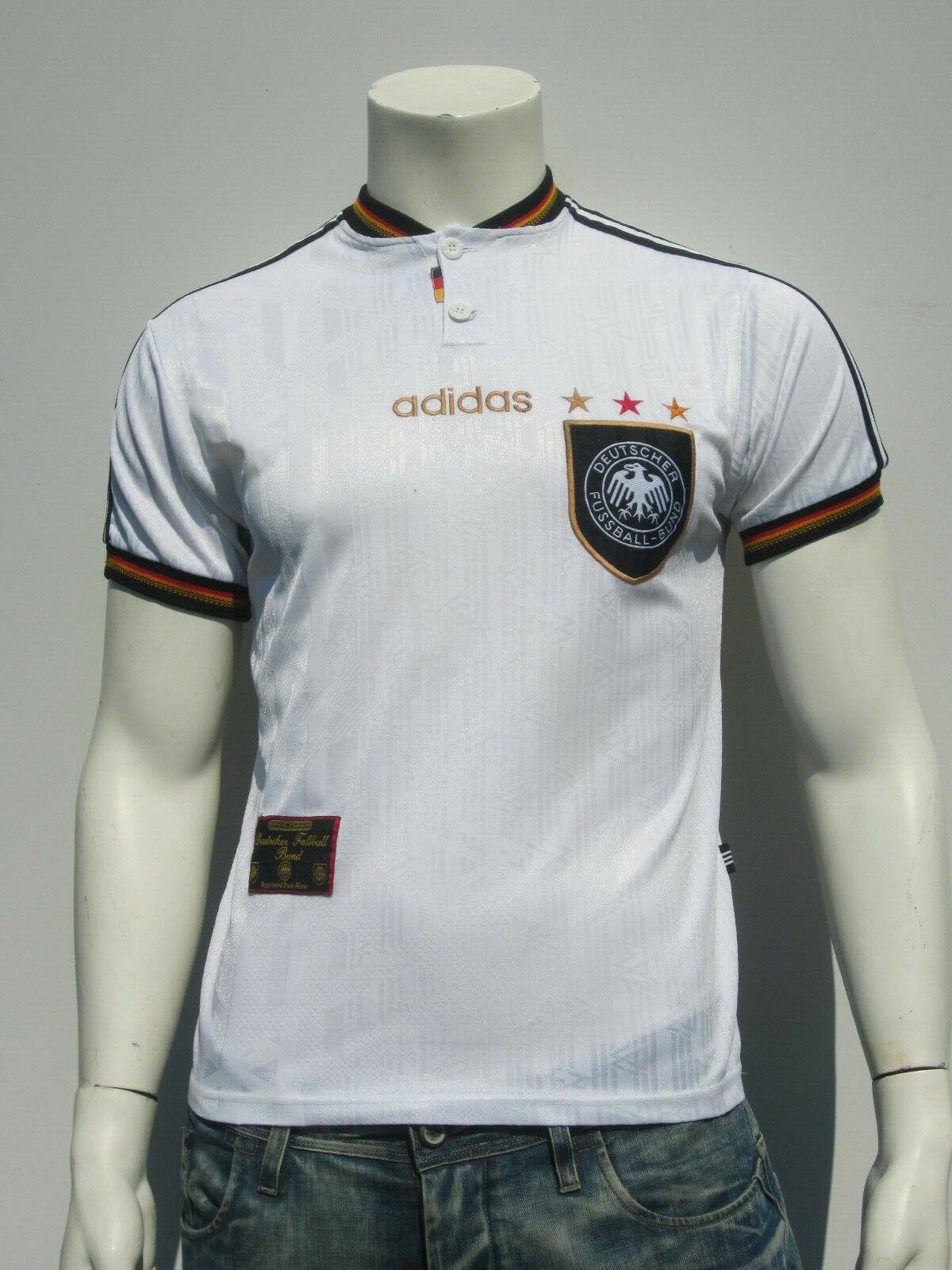 Adidas DFB Alemania [Talla S] Em 1996 Camiseta Local  (22)  Compra calidad 100% autentica