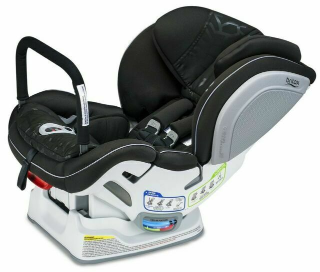 Britax Advocate ClickTight Convertible Car Seat Cool Flow Teal Anti Rebound Bar