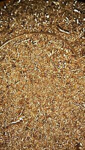 Metal Shavings brass 1 kg Swarf for arts crafts and hobbies Orgonite