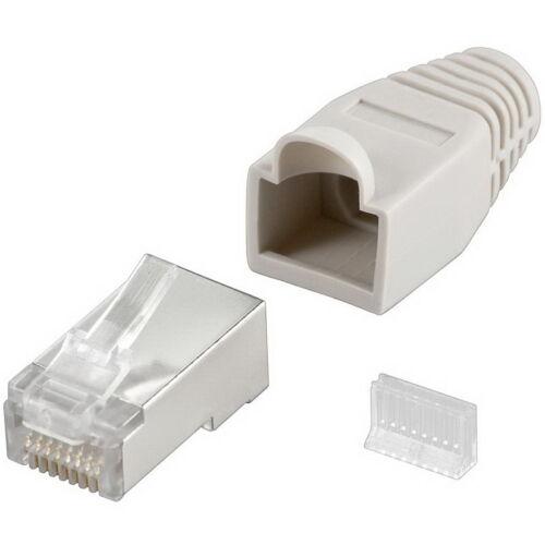100 m Cat6 Patchkabel S//FTP PIMF 20x Stecker Abisolierer Netzwerkkabel