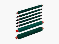 Rubber Roller Set Of 7 For Ab Dick 375 9800 9900 Series Lor 375 Pk