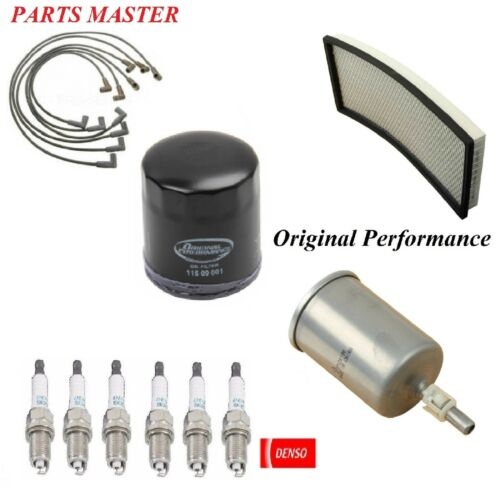 Tune Up Kit Filters Spark Plugs Wire For CHEVROLET CAMARO V6 3.8L 1998-1999