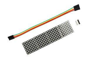 MAX7219-Microcontroller-4-In-1-LED-Dot-Matrix-Display-Module-5P-Arduino
