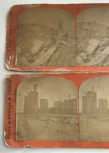 Chicago-Fire-Stereoview-P-B-Greene-Stereoscope-Cards