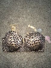 Cacique Bra Strapless Animal Print 42H Padded Multi-Way Underwire NWT