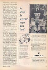 Rolex DATEJUST - - #6605-1960 - pubblicità con loghi pubblicità-vintage print ad-Publicidad Vintage