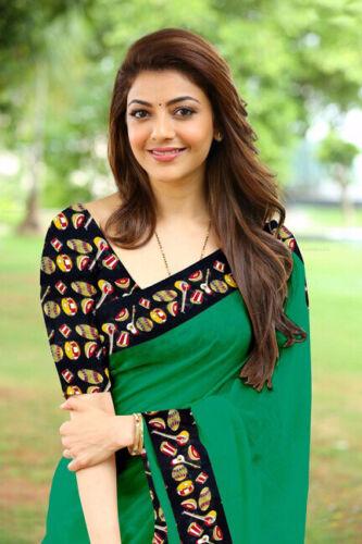 Saree Bollywood Indian Designer Sari Pakistani Wear Blouse Party Wedding AI