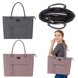 Mosiso15-6-Inch-Laptop-Tote-Bag-Premium-PU-Leather-Briefcase-Handbag-for-Women
