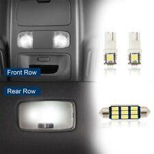 3 Pcs White Led Interior Light Bulbs Kit Map Dome Light Fit Toyota Tacoma 05 15