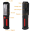 UK Rechargeable Inspection Lamp Hand Work Light COB Torch LED Magnetic Handheld