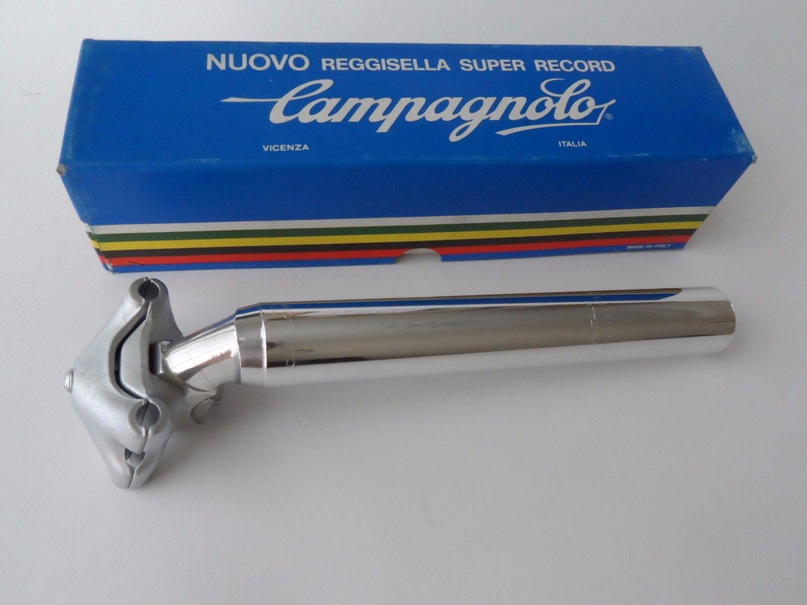NOS Vintage 1980s Campagnolo Super Record 'last generation' seatpost 26.6mm