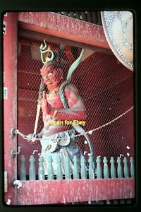 Temple or Shrine Sculpture in Japan in 1975, Original Slide aa 2-25a
