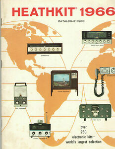 VINTAGE-1966-HEATHKIT-CATALOG-250-KITS-COLOR-TV-STEREO-HI-FI-ORGANS-RADIO
