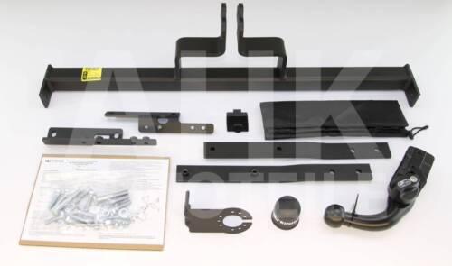 AHK Für Nissan Tiida C11 4-Tür Limousine ab 07 Anhängerkupplung abn.+ES 13p uni