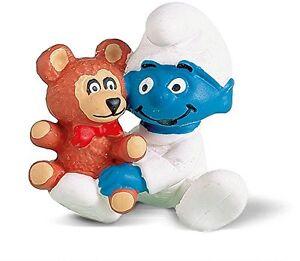 Smurfs-BABY-with-Teddy-Bear-Smurf