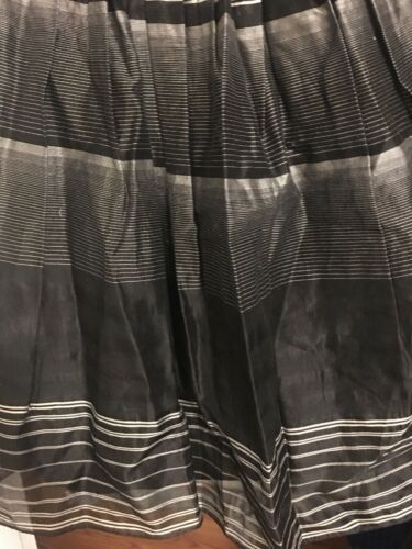 Flare Silk Max Robe Bcbg Azria Gris Flare 6 Perlées Bretelles Pretty Bas Sans ON0yvnPmw8