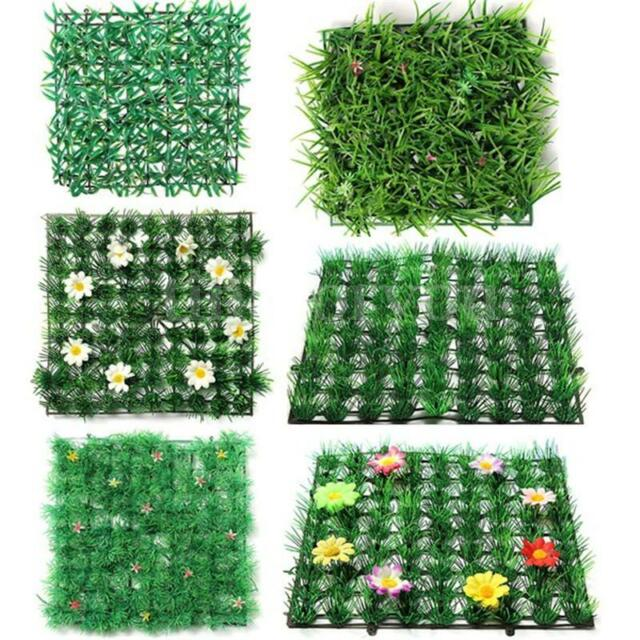 Green Grass Plastic Artificial Fish Tank Ornament Plant Lawn Aquarium Decor Home