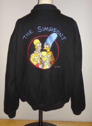 Vintage THE SIMPSONS Black STARWEARS Letterman Var