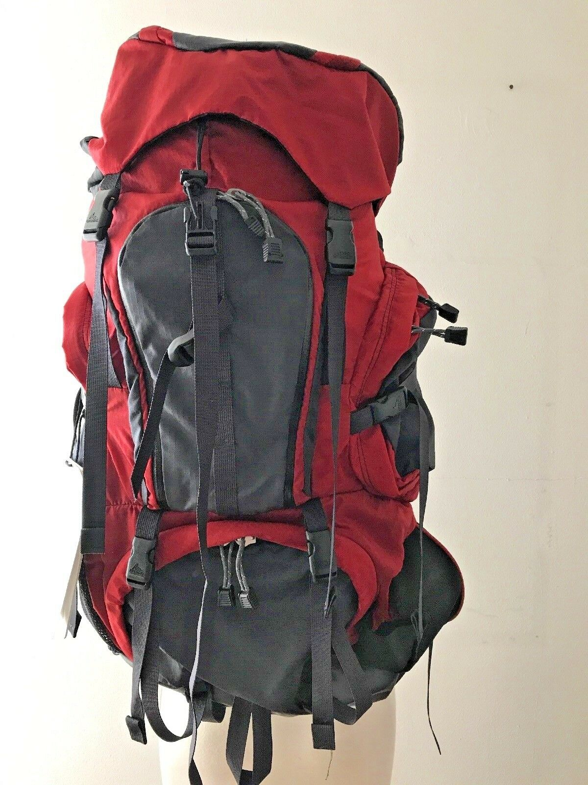 Gregory Deva 60 Backpack donna SM Formula rosso Bre nuovo With Tags Fast Shipping