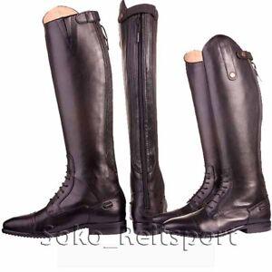 Schuhe für billige gute Qualität bieten viel Details zu UVP149,95€ HKM Valencia Kinder mit Reißverschluss  Lederreitstiefel Reitstiefel