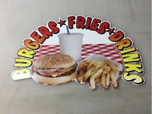 TWO-SAME-SIZE-BURGERS-FRIES-AND-DRINKS-ASSORTED-DIECUT-CORRUGATED-PLASTIC-SIGNS