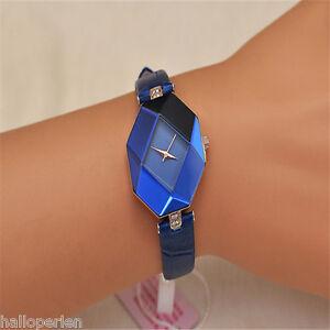 1PC-New-Ladies-Women-Shiny-With-Rhinestone-Watch-Faux-Leather-WristWatch-Watch