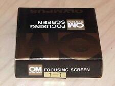 OLYMPUS OM FOCUSING SCREEN 1-1 NEW IN BOX