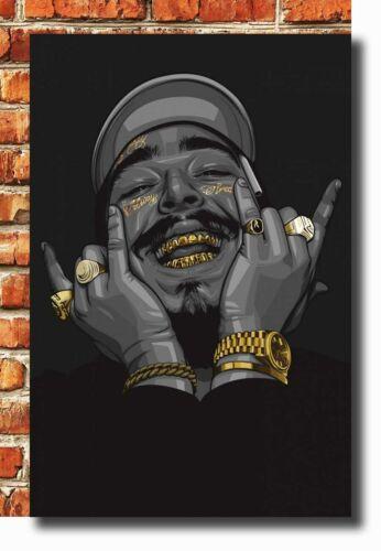 14x21 24x36 Poster Post Malone Great Rap Star Music 111