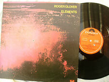 ROGER GLOVER LP ELEMENTS uk polydor 2391 306 N/M deep purple