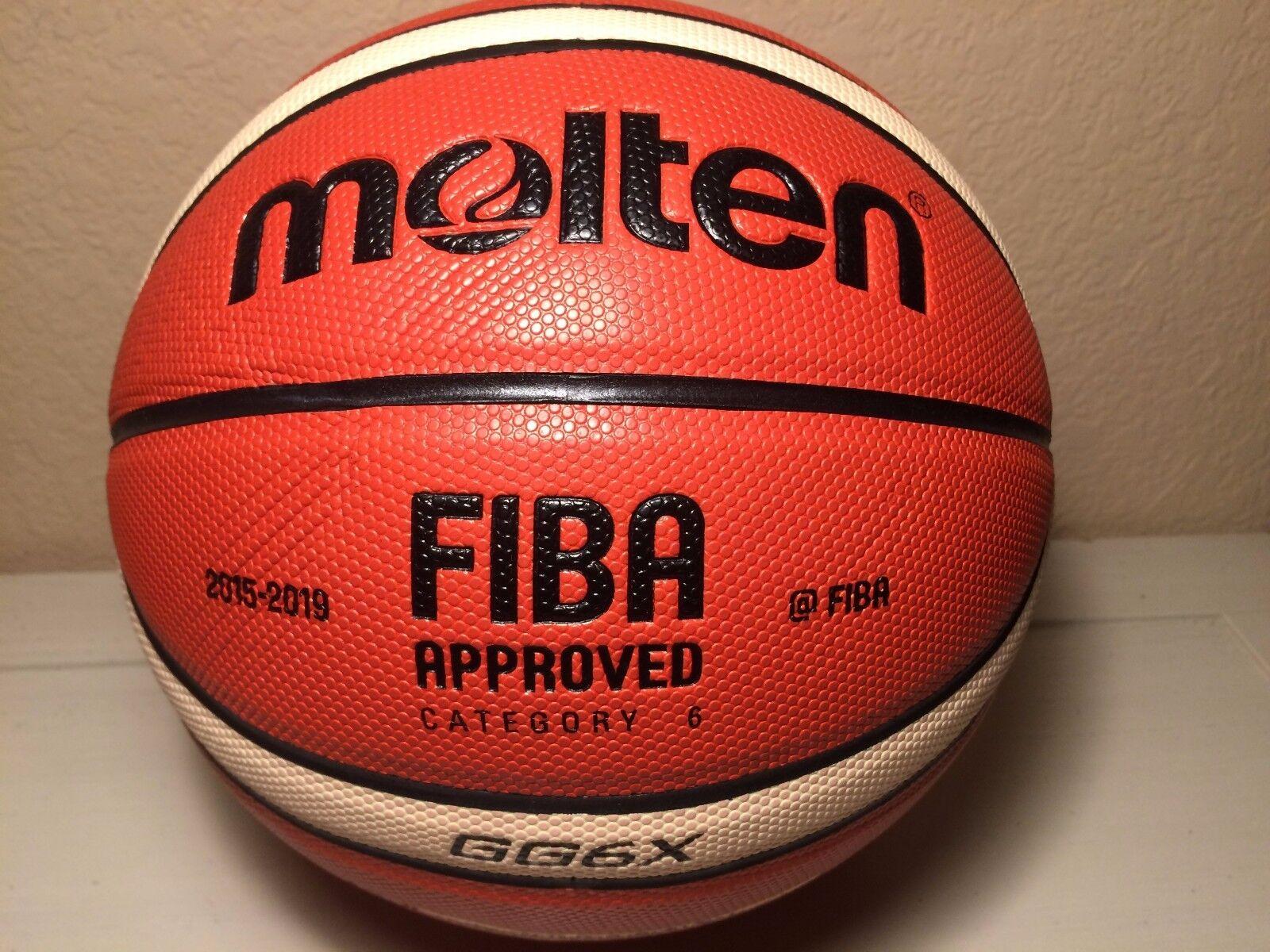 Molten GG6X Basketball Premium Composite Leather Women's Size 6 - 28.5 US Seller