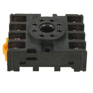 New 8 Round Pin 8-Pin PF083A Relay Base Socket LW