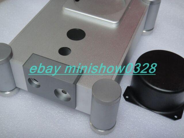#6080 Professional Silver Aluminium case for Tube headphone amplifier 202x80x282