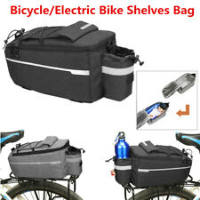Cycling Insulated Trunk Cooler Bag Bike Rear Seat Luggage Rack Pannier Bag C8Q8