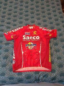 Superbe Maillot Team Saeco Longoni